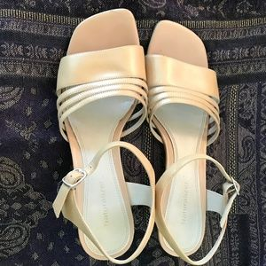 b7b0bef535e6 Naturalizer Shoes - Naturalizer Nude Leather Strap Sandals
